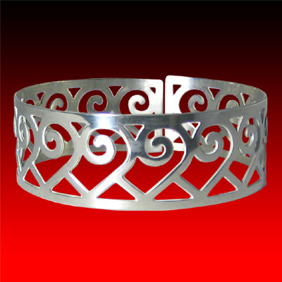 Contemporary Eastern Woodlands Design Wristband