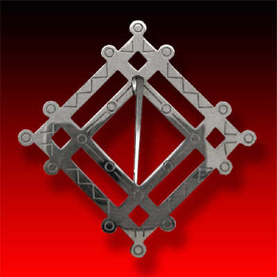 trade silver Large Council Brooch