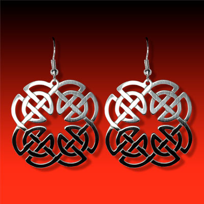 Square Knot Earrings