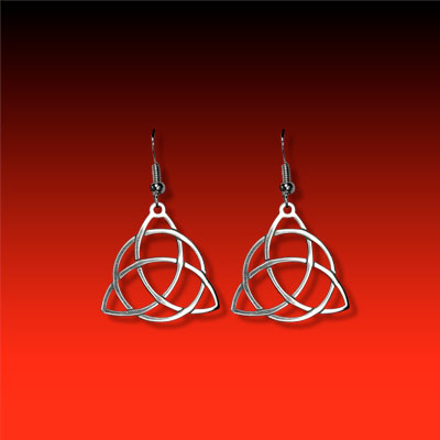 Triquetera Earrings