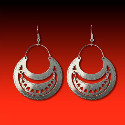 Seneca Style Earrings