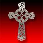 trade silver Lg Celtic Cross