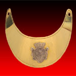 French Officer's Gorget