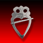 Heart trade silver Luckenbooth