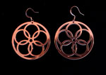 Copper Five Circle Ear wheels